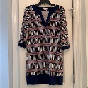 Jude Connally Dress size small Nautical pattern